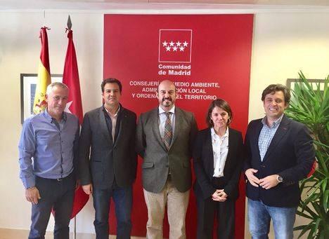 Pedro Rollán se reúne con los municipios afectados por la presencia de jabalíes