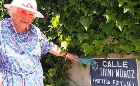 Adiós a Trini Muñoz, la poetisa de Torrelodones