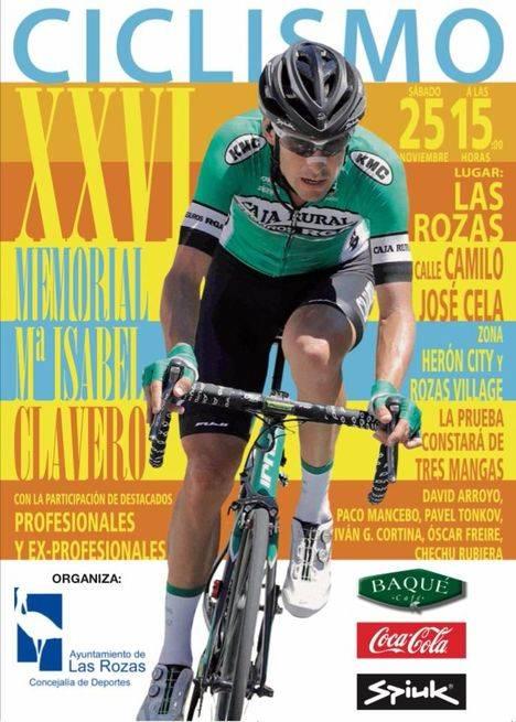 """La comedia """"Héroes"""" y el Memorial María Isabel Clavero de ciclismo, este fin de semana en Las Rozas"""