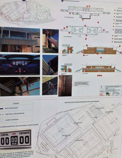 En marcha las obras de mejora en el Complejo Deportivo Municipal