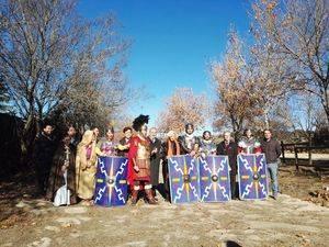 Los legionarios romanos vuelven a recorrer el Itinerario de Antonino en Galapagar
