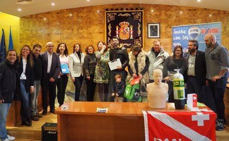 Entrega de premios a los ganadores de las VI Feria de la Tapa de Torrelodones