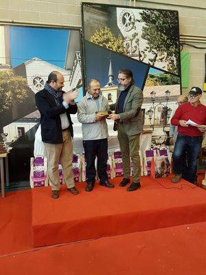 Clausura de la IV Feria de Aves celebrada en Brunete
