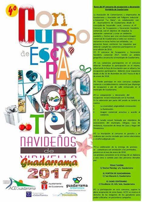 Cuarto concurso de escaparatismo y decoración navideña de Guadarrama