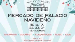 La Navidad llega a Mercado de Palacio que este mes abre dos fines de semana