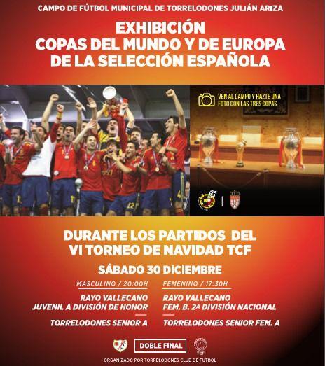 El Torrelodones CF celebra su Torneo de Navidad