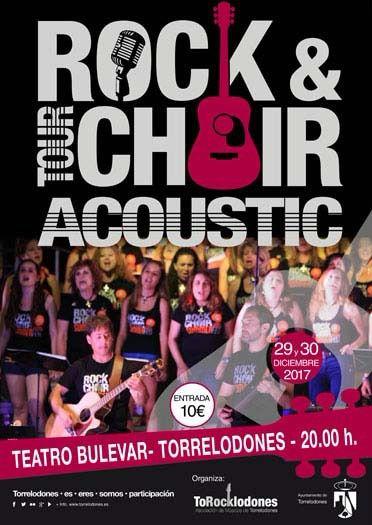 Rock&Choir hace doblete este fin de semana en el Teatro Bulevar