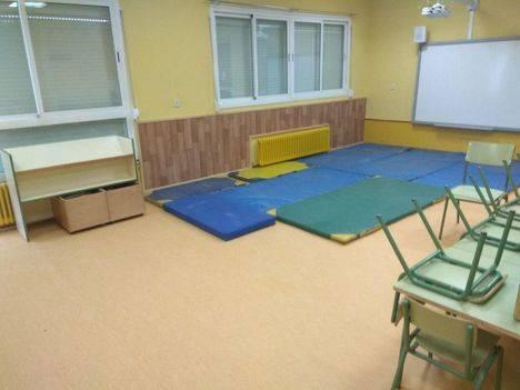 Obras de mejora en los colegios de El Escorial