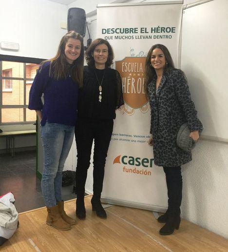 La Escuela de Héroes de la Fundación Caser llega a los colegios de Boadilla