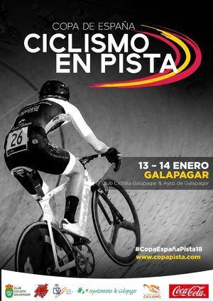 Galapagar, sede de la Copa de España de ciclismo en pista 2017-2018