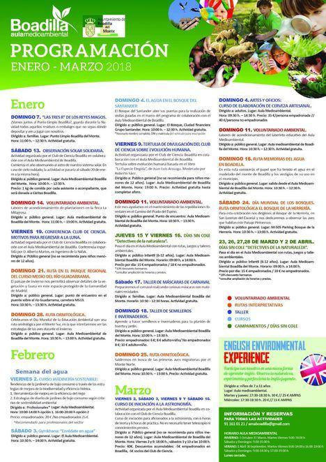 Rutas, voluntariado ecológico,protagonistas de las actividades medioambientales