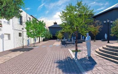 A concurso las obras de reforma de la Plaza de la Iglesia y de la Constitución
