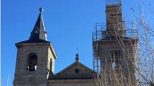 Comienzan las obras de restauración de las torres de San Bernabé