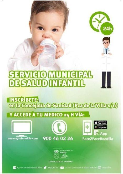 El Servicio Municipal de Salud Infantil atendió 2.355 consultas telefónicas en 2017