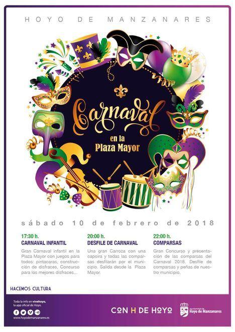 Hoyo celebra unos carnavales muy familiares y participativos