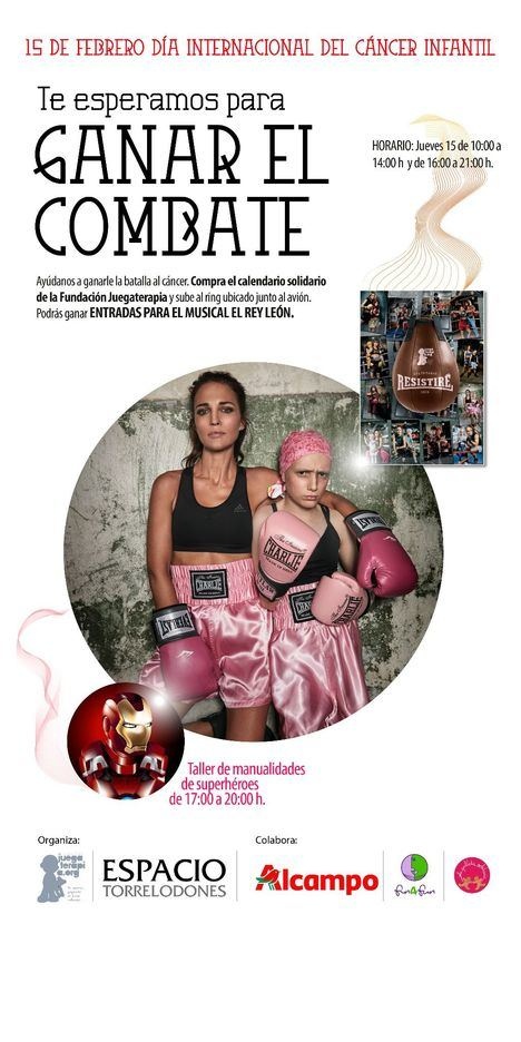 Espacio Torrelodones le gana el combate al cáncer infantil