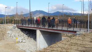Inaugurada la pasarela peatonal al Hospital General de Collado Villalba