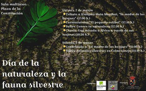 Colmenarejo celebra el Día de la naturaleza y la fauna silvestre