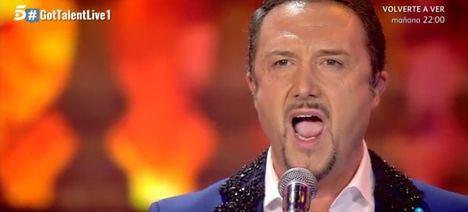 Raúl Rubio, del Coro Villa de Las Rozas a la final de Got Talent
