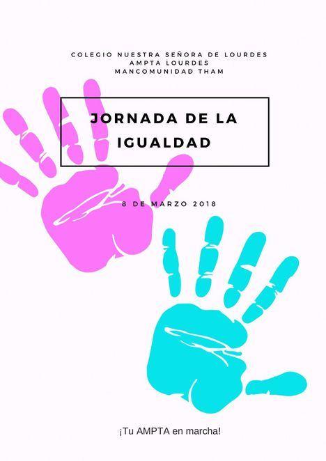 Actividades por el Día Internacional de la Mujer en el colegio Nuestra Señora de Lourdes