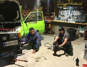 Los guadarrameños Ismael Pozas y Javier Rubio participarán en el Oasis Raid