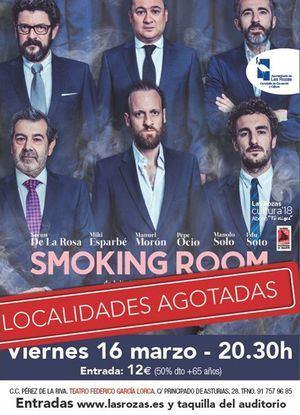 """""""Smoking Room"""", plato fuerte de la agenda cultural en Las Rozas"""