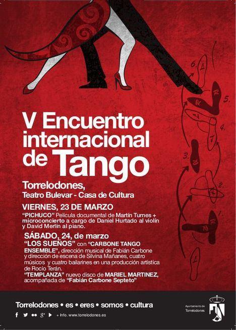 El V Encuentro Internacional de Tango trae a Torrelodones cine, música y baile