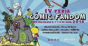 La Feria del Comic y Fandom celebra del 6 al 8 de abril su cuarta edición