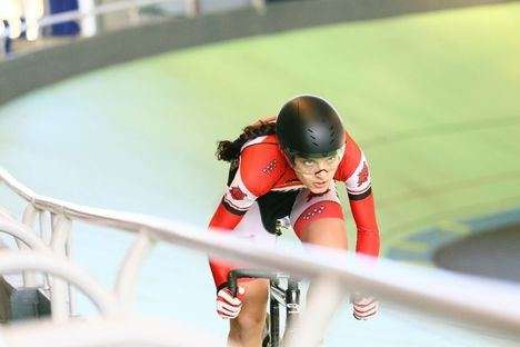 La galapagueña Eva Anguela, campeona de España de ciclismo en pista en cuatro modalidades