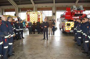 Los nuevos bomberos de la Comunidad de Madrid comienzan su formación
