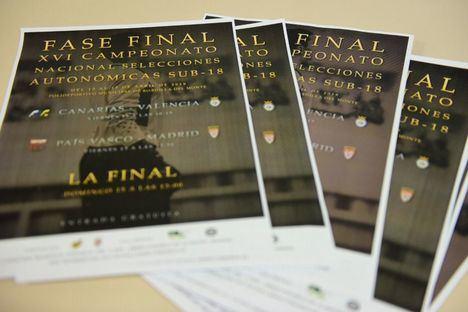 Boadilla sede de la fase final del Campeonato de España de selecciones autonómicas de fútbol sub 18