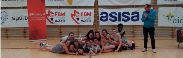 Las chicas del HM Hospitales, subcampeonas de Madrid en categoría Junior