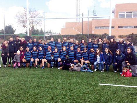 Las Rozas, campeón de rugby femenino