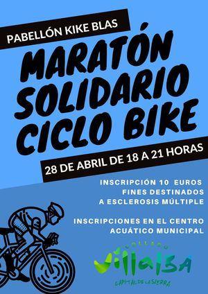Maratón Solidario de Ciclo Bike, a favor de la esclerosis múltiple