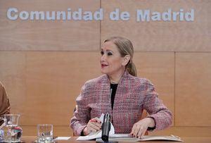 Tras la dimisión de Cristina Cifuentes, Ángel Garrido asume la Presidencia en funciones de la Comunidad de Madrid