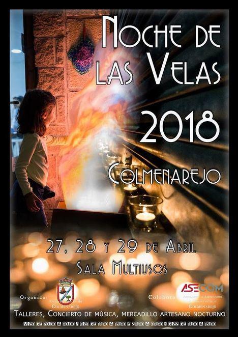 Colmenarejo celebra la Noche de las Velas del 27 al 29 de abril