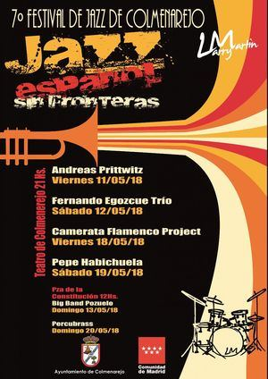 Pepe Habichuela o Andreas Prittwitz, entre los artistas del Festival de Jazz, que comienza el 11 de mayo