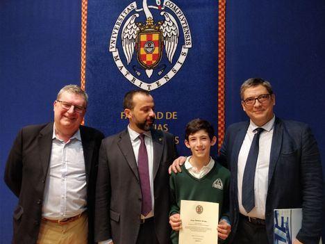 Un alumno de San Ignacio premiado en el XXII Concurso de Primavera de Matemáticas