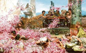 Las rosas de Heliogábalo (Sir Lawrence Alma-Tadema)