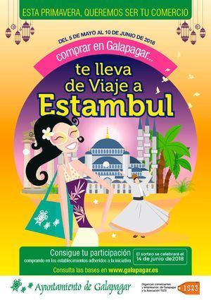 Compra en Galapagar y gana un viaje a Estambul