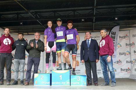 Eva Anguela campeona, por segundo año consecutivo, de la Vuelta a Burgos Féminas