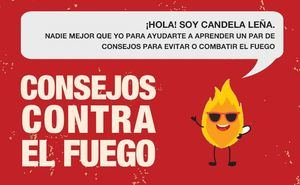 Los consejos de Candela Leña, nueva campaña informativa sobre incendios forestales