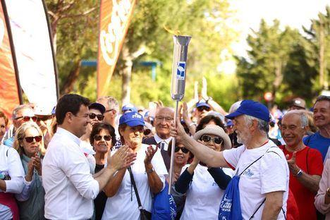 Más de 1.200 mayores, de 'marcha' por Las Rozas