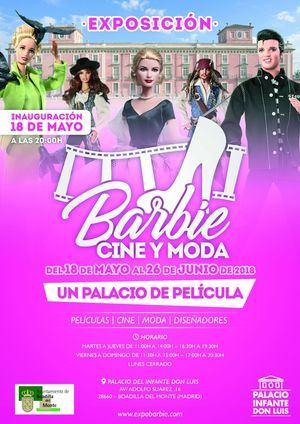 El Palacio de Boadilla acoge desde este fin de semana la exposición 'Barbie, cine y moda'