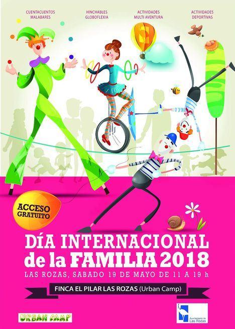 Las Rozas celebrará el Día de la Familia con actividades al aire libre