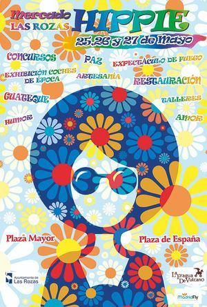 El centro de Las Rozas se convierte en un Mercado Hippie este fin de semana