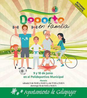 I Fiesta del deporte y la familia en Galapagar