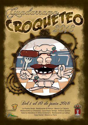 'El Croqueteo' vuelve a Guadarrama del 1 a 10 de junio
