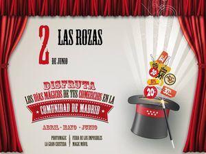 """La campaña """"Comercios Mágicos"""" llega a Las Rozas con magia, descuentos y regalos"""