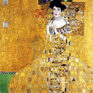 'Retrato de Adele Bloch-Bauer I' de GUSTAV KLIMT